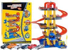 Dimix Mega garáž 4 patra + 6 autíček