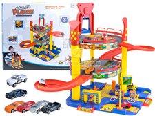 Dimix Mega garáž 2 patra + 6 autíček