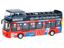 Dimix Dvoupatrový výletní autobus červený