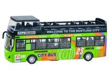 Dimix Dvoupatrový výletní autobus zelený