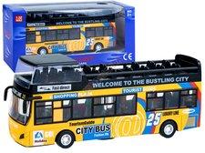 Dimix Dvoupatrový výletní autobus žlutý