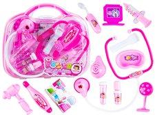 Dimix Lékařský set v kufříku růžový