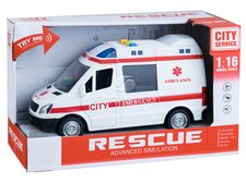 Dimix Auto Ambulance se světlem a zvukem 21cm