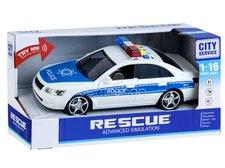 Auto policie se světlem a zvukem 22cm