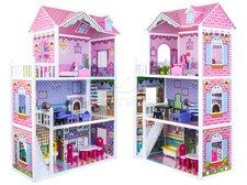 Dřevěný domeček pro panenky 124cm