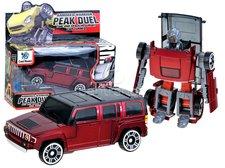 Transformer robot/auto červený