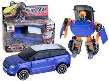 Transformer robot/auto modrý