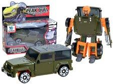 Transformer robot/auto zelený