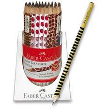 Tužka Faber-Castell Graphite Motif Pencil - stojánek 90 ks