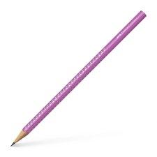 Grafitová tužka Faber-Castell - Sparkle - tvrdost HB neon - růžová