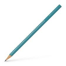 Grafitová tužka Faber-Castell - Sparkle - tvrdost HB-  tyrkysová