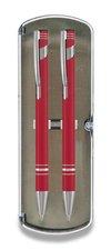 Sada Limet kuličková a mechanická tužka - červená