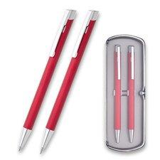 Psací souprava Zera, souprava KT + MT 0,5 mm v dárkové krabičce, červená