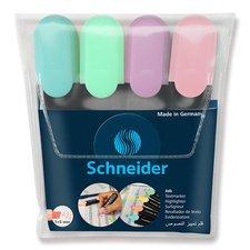 Schneider Zvýrazňovač  Job Pastel sada 4 barev