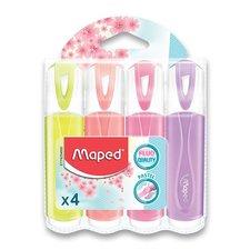 Maped Zvýrazňovač Fluo Peps Pastel 4 ks
