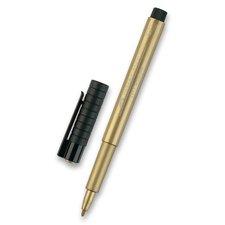 Faber-Castell Popisovač Pitt Artist Pen Metallic zlatý