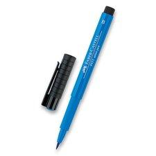 Faber-Castell Popisovač Pitt Artist Pen Brush - modré odstíny 110