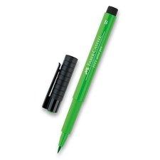 Faber-Castell Popisovač Pitt Artist Pen Brush - zelené odstíny 112