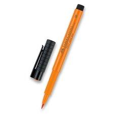 Faber-Castell Popisovač Pitt Artist Pen Brush - žluté a oranžové odstíny 113