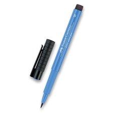 Faber-Castell Popisovač Pitt Artist Pen Brush - modré odstíny 120