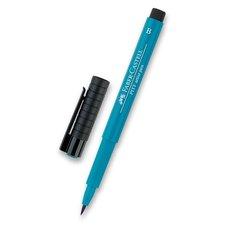 Faber-Castell Popisovač Pitt Artist Pen Brush - zelené odstíny 153