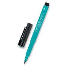 Faber-Castell Popisovač Pitt Artist Pen Brush - zelené odstíny 156