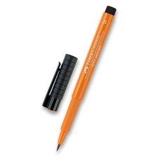 Faber-Castell Popisovač Pitt Artist Pen Brush - žluté a oranžové odstíny 186