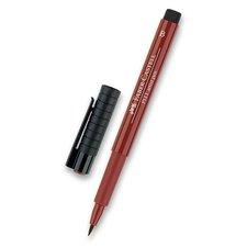 Faber-Castell Popisovač Pitt Artist Pen Brush - hnědé a metalické 192