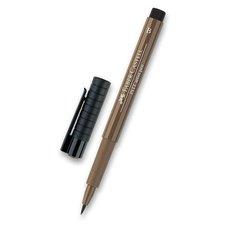 Faber-Castell Popisovač Pitt Artist Pen Brush - hnědé a metalické 178
