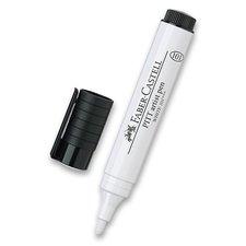 Faber-Castell Popisovač Pitt Artist Pen Big bílý