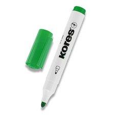 Popisovač na bílé tabule Kores Whiteboard - zelený