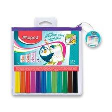 Maped Popisovač  WB Fun Colours 12 barev