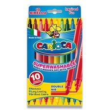 Dětské fixy Carioca Birello - 10 barev