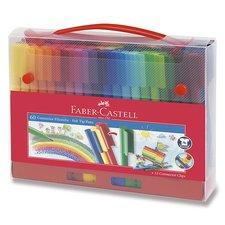 Faber-Castell Dětské fixy Connector taška, 60 barev