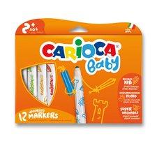 Dětské fixy Carioca Super Baby - 12 barev