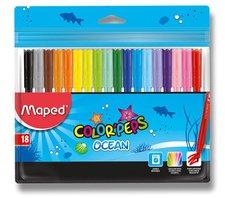 Dětské fixy Maped Color'Peps Ocean - 18 barev