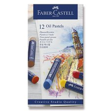 Faber-Castell Olejové pastely 12 barev