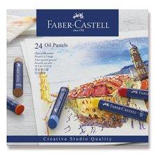 Faber-Castell Olejové pastely 24 barev