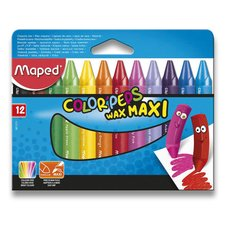 Voskovky Maped Color'Peps Wax Jumbo - 12 barev