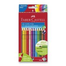 Pastelky Faber-Castell Colour Grip Jumbo - 12 barev