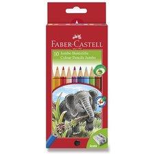 Faber-Castell Pastelky Jumbo 10 barev