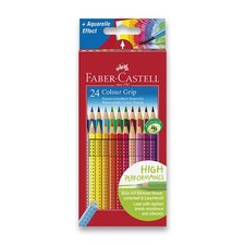 Pastelky Faber-Castell Colour Grip 2011 - 24 barev