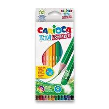 Carioca pastelky  Tita Erasable - 24 barev