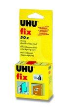 Lepící polštářky UHU Fix, 50 ks