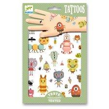 Djeco Tetování Malé příšery