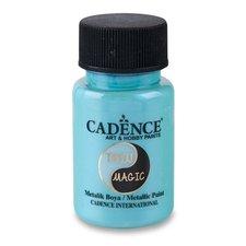 Cadence Metalická barva Twin Magic modrá/zel.