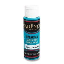 Cadence Akrylové barvy Premium tyrkysová
