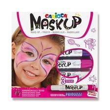 Carioca Obličejové barvy Mask Up Princess 3 barvy