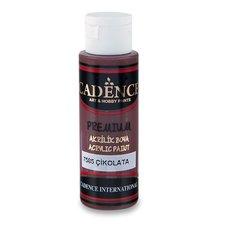 Cadence Akrylové barvy Premium hnědá