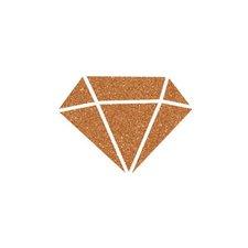 Aladine Diamantová barva Izink měděná